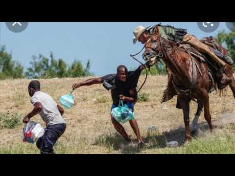 Haitian Migrants Attacked By US Border Patrol