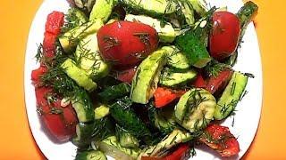 Малосольное овощное ассорти. Обязательно приготовьте, это безумно вкусно.