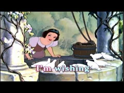 Snow White - Im Wishing / One Song - Sing Along Song with Lyrics - Disney