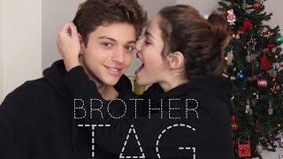 Erkek Kardeşimle Soru&Cevap | Brother TAG | Pineapplepieblog