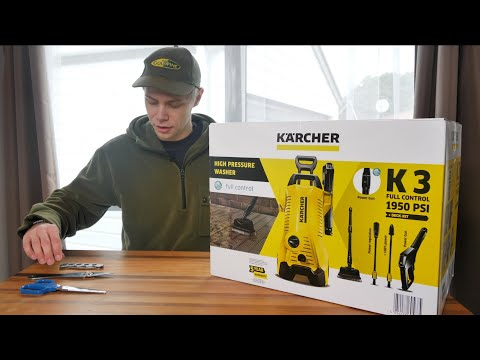 Karcher K3 Full Control Pressure Washer (What's In The Box). The One Issue I Had!