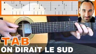 Le Sud Tablature Guitare