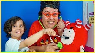 Doktor Yankı İle Oddbods'u Tedavi Ediyoruz | Doctor Yankı Treated Oddbods - Funny Kids Video