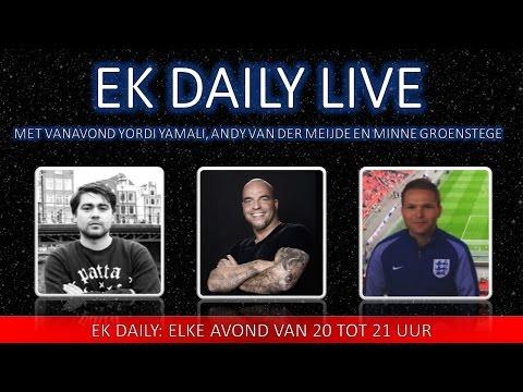 #EKDAILY E30 - 9/7/2016 - Met Andy van der Meijde, Minne Groenstege en Yordi Yamali