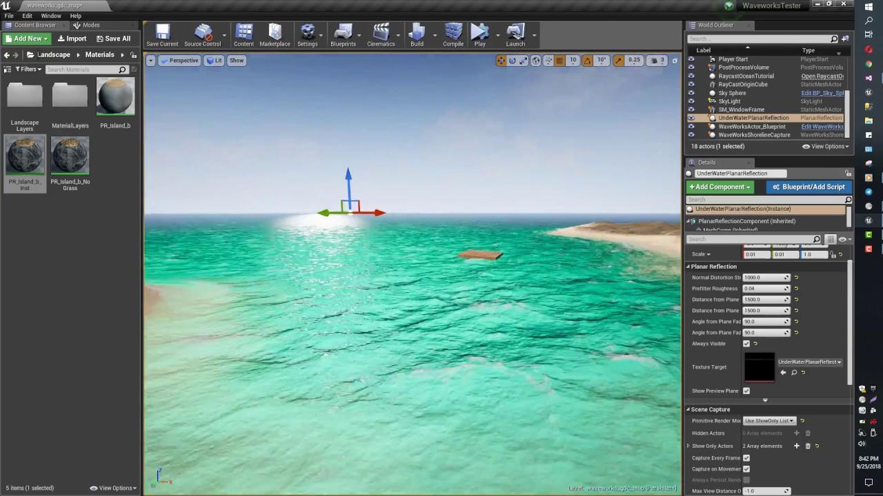 Unreal Engine Nvidia Waveworks Ocean
