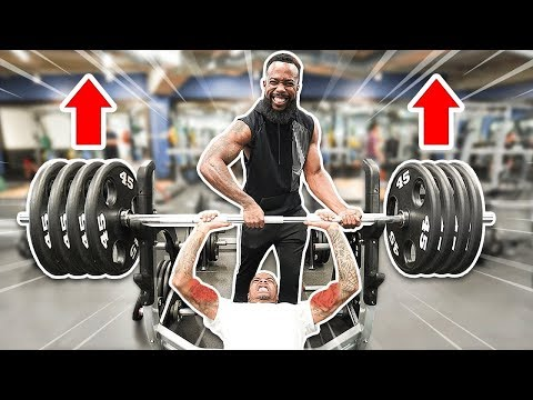 Taking Flight To The Gym To Workout Arms, Chest & Bench Press!