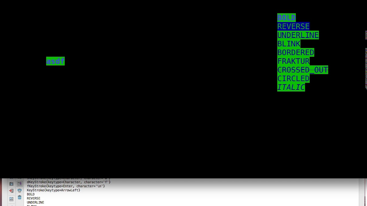Lanterna 3, Console Text GUI Library for Java, Part 3 of 4