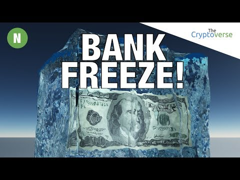 Possible Bank Runs 💸 In EU Could Mean Account Freezes So Time We Embraced Bitcoin (The Cryptoverse)