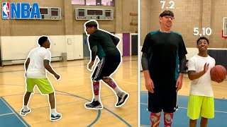1v1 W/ Retired NBA BASKETBALL PLAYER