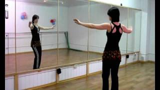 """Восточные танцы - Урок 4 - """"Точки вниз"""""""