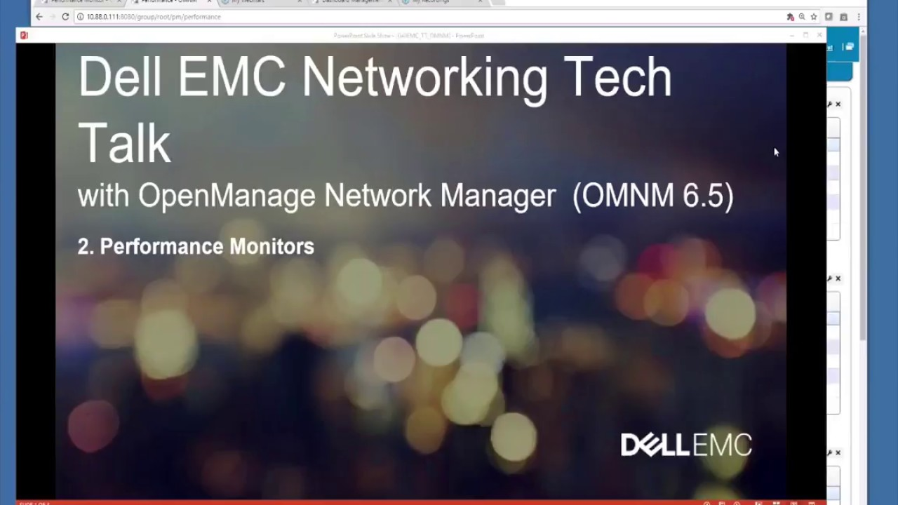 OMNM 6 5 Performance Monitors