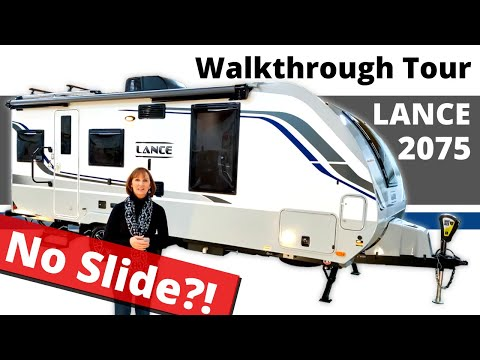 Luxury Trailer With No Slide? Not An Airstream? Meet The Lance 2075