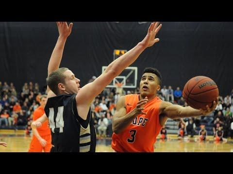 Hope College v. Aquinas College - NCAA D3 Men's Basketball