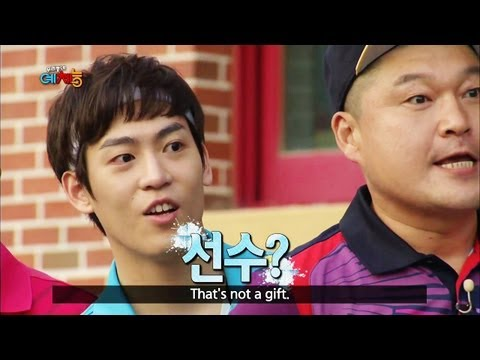 Cool Kiz on the Block | 우리동네 예체능 - Training Day! (2013.08.20)