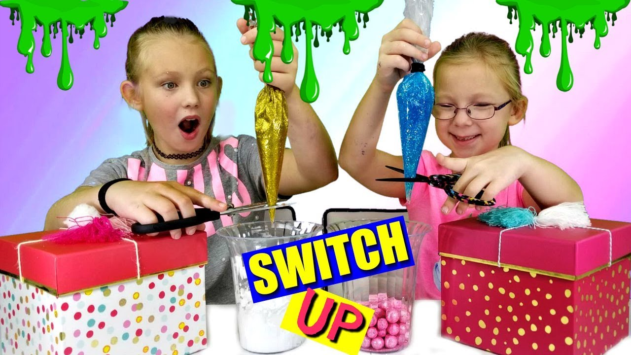 Mystery box slime switch up challenge youtube mystery box slime switch up challenge ccuart Choice Image