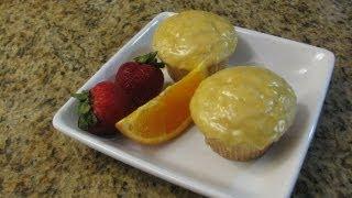 Glazed Orange Muffins - Lynn's Recipes