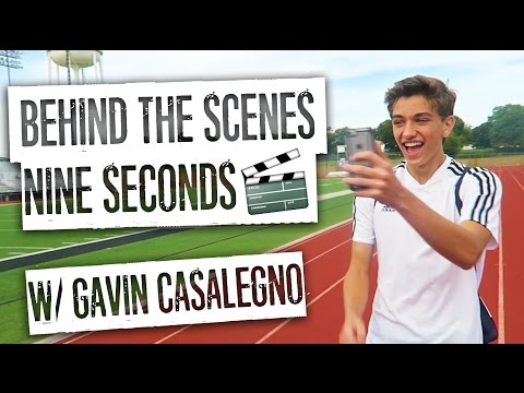 Behind the Scenes with Gavin Casalegno on Nine Seconds
