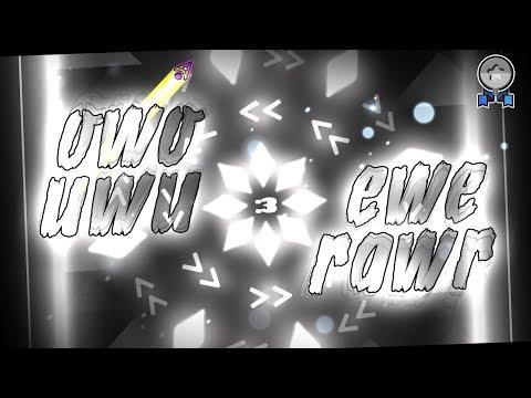 """owo uwu ewe rawr"" (1 coin) by Zoroa GD | Geometry Dash 2.11"