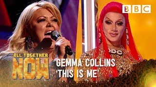 Drag queen Divina throws shade at Gemma Collin's 'This Is Me' ️ - All Together Now