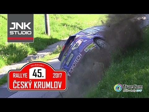 45. Rallye Český Krumlov 2017 (crash & action)