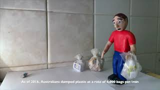 Claymation video on plastic-waste, Div.