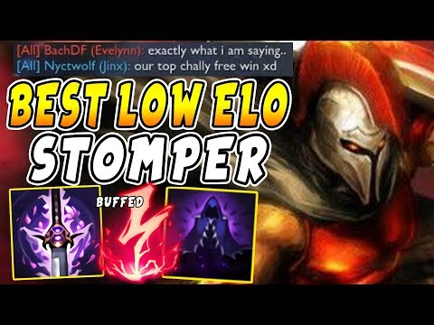 Electrocute Pantheon is BACK | How To Solo Carry ALL Low Elo Games!
