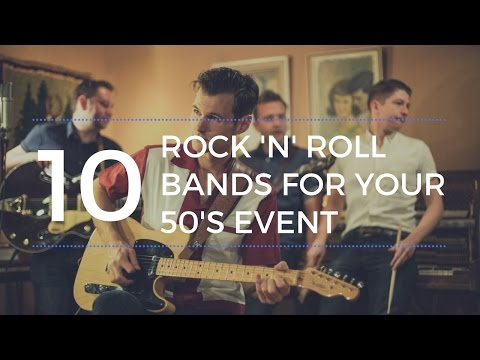 10 Rock 'n' Roll Bands For Your 50's Themed Event or Wedding