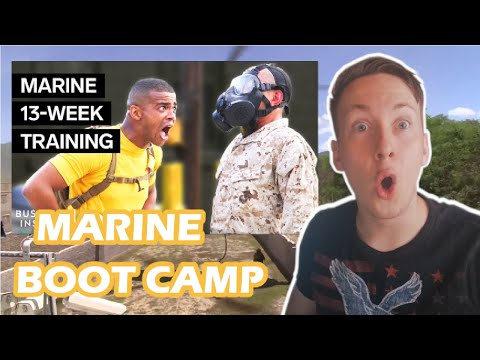 German Reacts To MARINE BOOT CAMP