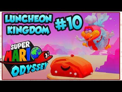 ABM: Super Mario Odyssey !! *Luncheon Kingdom* Walkthrough # 10 HD