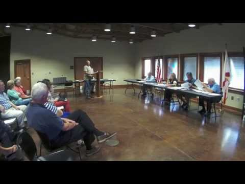 8/04 Cleburne County Commission Board Meeting