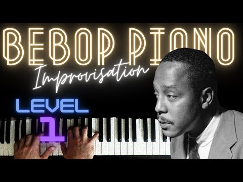 Bebop Blues in C - Play and Rest Approach │Jazz Piano Lesson #23