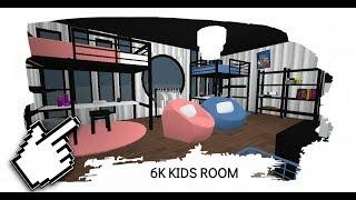 (GIVEAWAY) 6K Habitación para niños! SIN PASOS DE JUEGO ? Roblox: Bloxburg