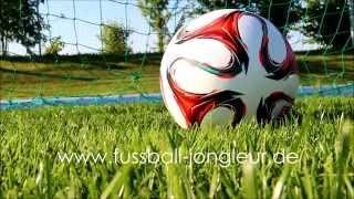 Fussball freestyle - sebastian landauer jongleur