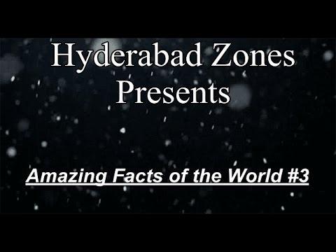 10 Amazing Fact of the World #3   Hyderabad Zones