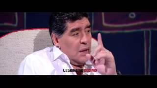 Maradona explica cómo se enganchó a la droga
