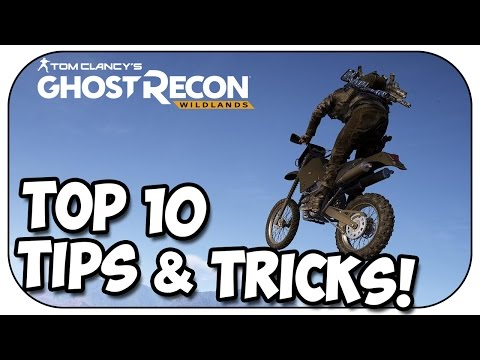 Ghost Recon Wildlands - TOP 10 TIPS AND TRICKS!