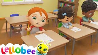 Going To School   @Boo Boo Kids - Nursery Rhymes & Kids Songs    Little Baby Bum