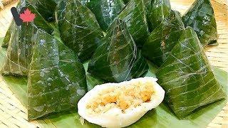 Bánh Ít Nhân Dừa  - Bánh Ít Nhân Dừa Mè Đậu Phộng Thơm Ngon Dễ Làm - Sitcky Rice Cake with Coconut