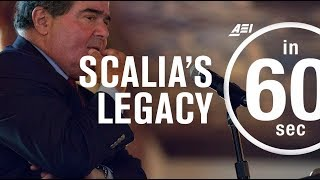 Assessing Antonin Scalia's legacy | IN 60 SECONDS