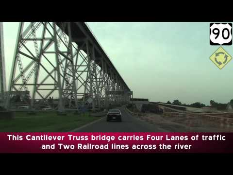 Mississippi River Bridges: Southern Louisiana