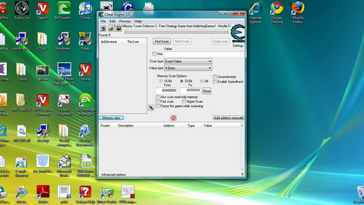 How To Use Cheat Engine To Hack Online Flash Games Web Games