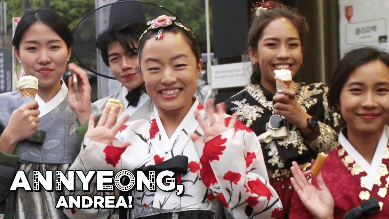The Hanbok (South Korea) or Joseon-oth (North Korea) | Annyeong, Andrea