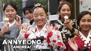 The Hanbok (South Korea) or Joseon-oth (North Korea) | Annyeong, Andrea!