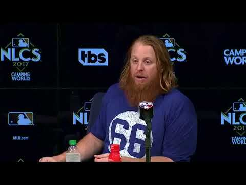 Justin Turner and Kenley Jansen Postgame Interview | Dodgers vs Cubs Game 2 NLCS