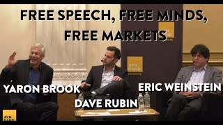FREE SPEECH, FREE MINDS, FREE MARKETS