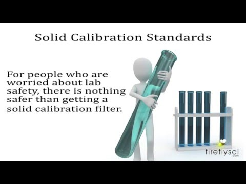 Spectrophotometer Calibration Differences Between Liquid & Solid Standards