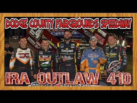 IRA Sprint Car Series featuring Tony Stewart | Dodge County Fairgrounds Speedway