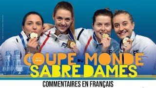 CdM SD Orléans 2018 – Épreuve par équipe, 3ème place et finale - Commentaires en français