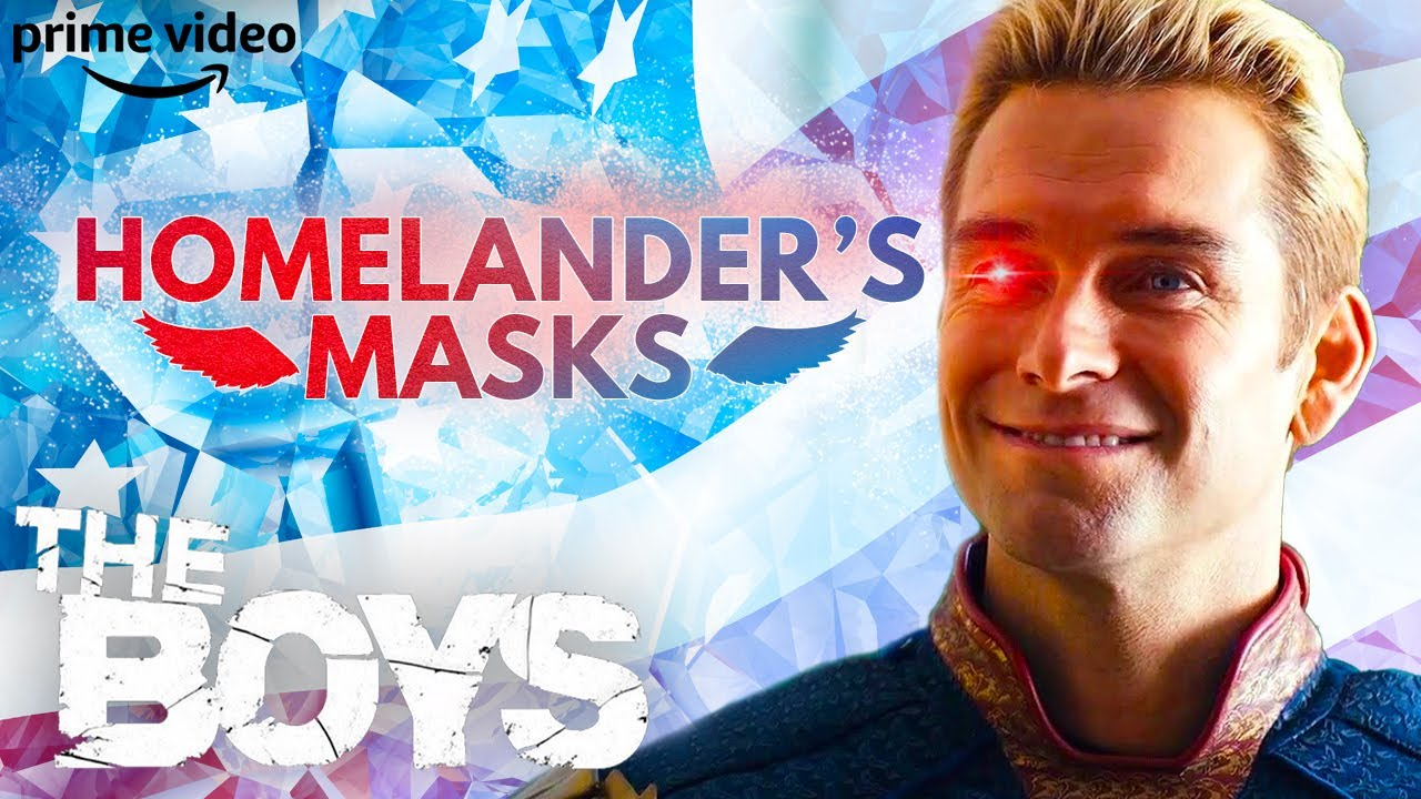 Download The Many Personality Masks of Homelander | The Boys | Prime Video