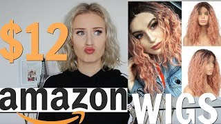 TRYING CHEAP WIGS FROM AMAZON